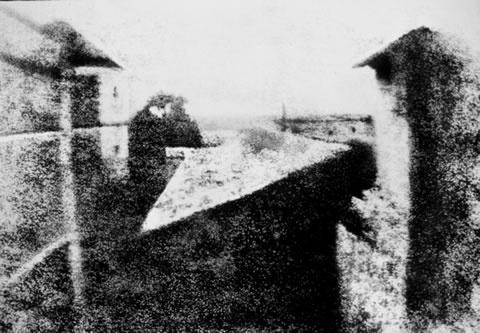 a10 la prima foto j. niepce 1826