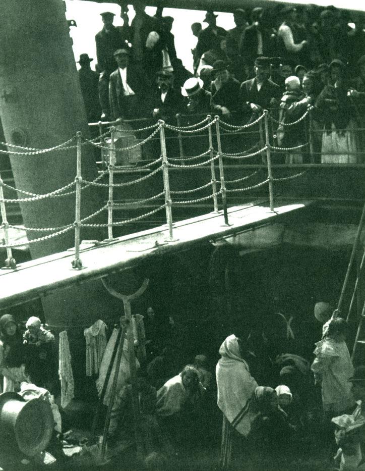 b9 a stieglitz il ponte di terza classe 1907