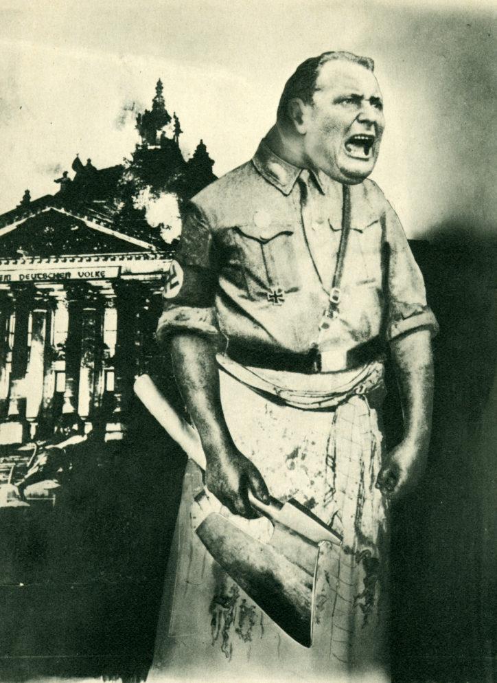c5 j. heartfield goering boia del III reichs 1933